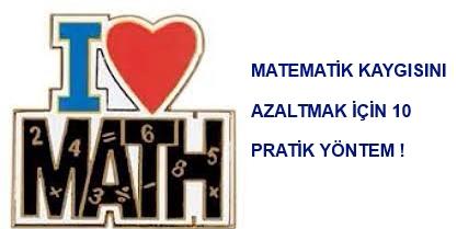Matematik Kaygısını Azaltma Yöntemleri