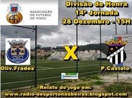 Oliveira de Frades vs Penalva do Castelo