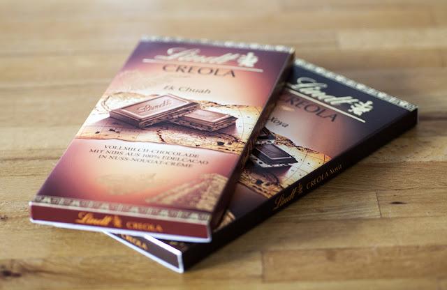 Lindt Creola Schokoladentafeln