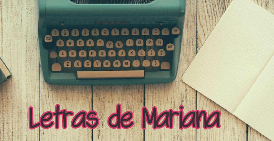Letras de Mariana