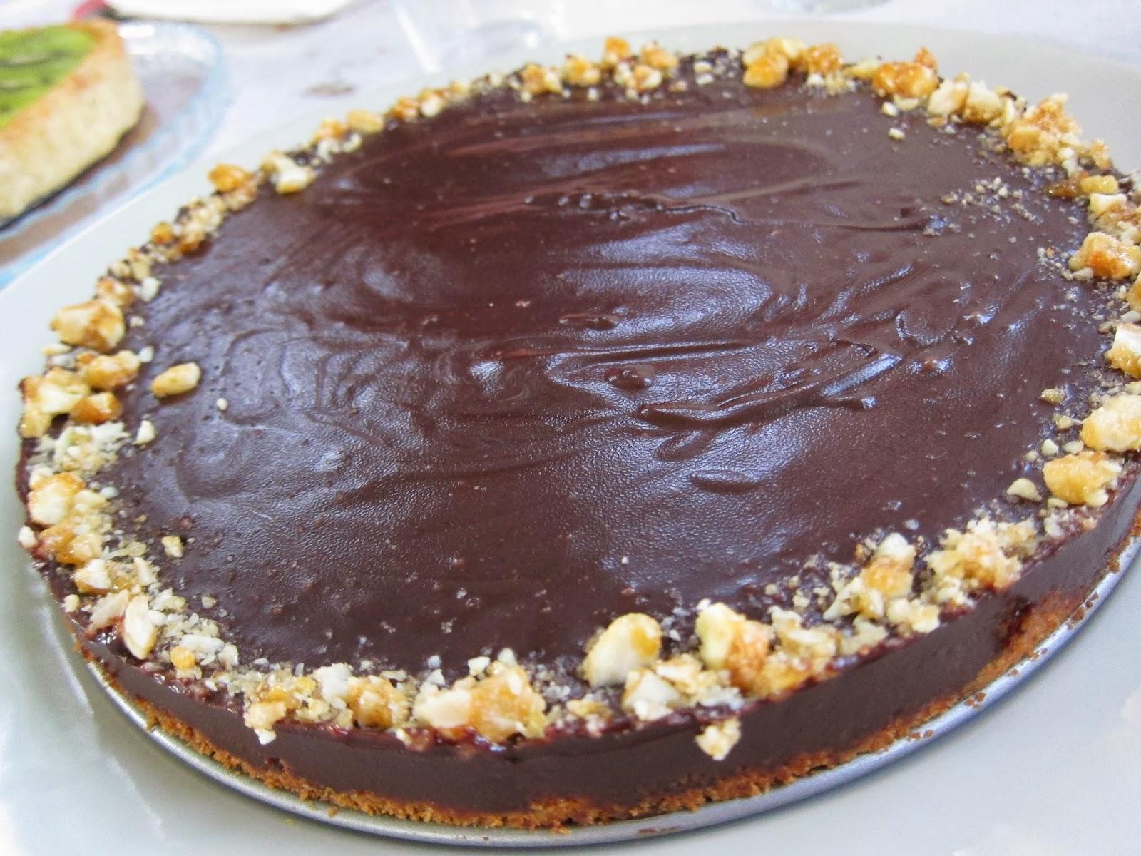 ... year round treat everyone will love, Chocolate Honey Almond Tart