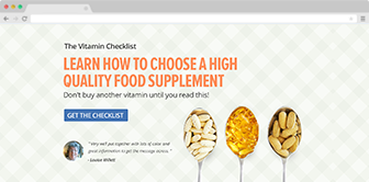 The Vitamin Checklist