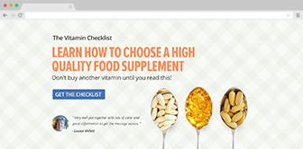The Vitamin Checklist