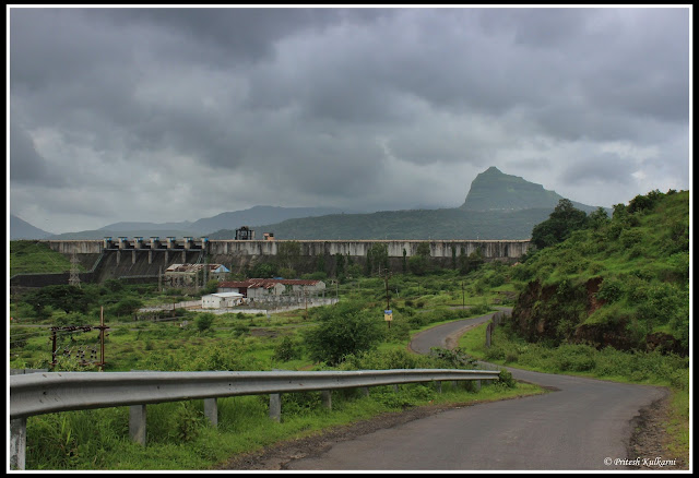 Tung fort at Pavana Dam wall