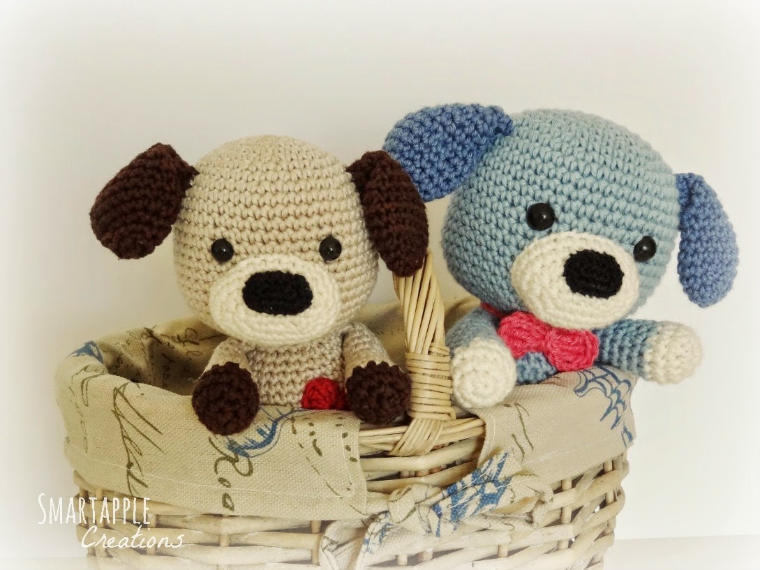 Smartapple Creations Amigurumi And Crochet Sammy The Puppy