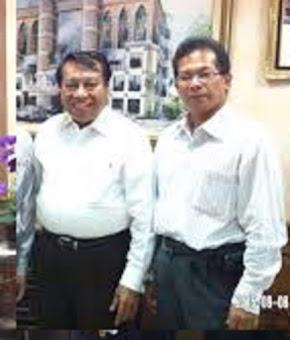 Rev Dr Mahli Sembiring dgn Pdt Dr Jacob Nahuway