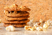 Sweet 'n' Salty Popcorn Cookies