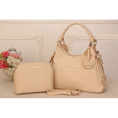 AAA WITH MICHAEL KORS LOGO (BEIGE)