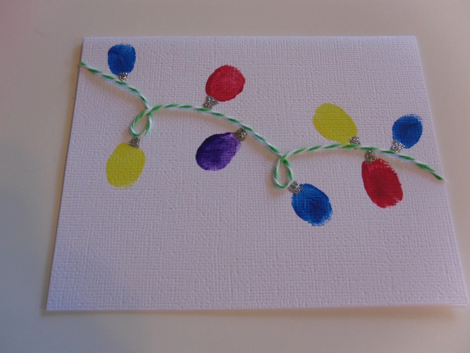 Sensory Sun: Inspired by Pinterest - Sensory Christmas Cards for Kids!