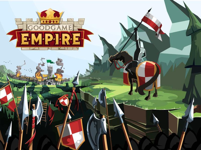 Goodgame Empire (Review) - Web Game 360 Goodgame Empire