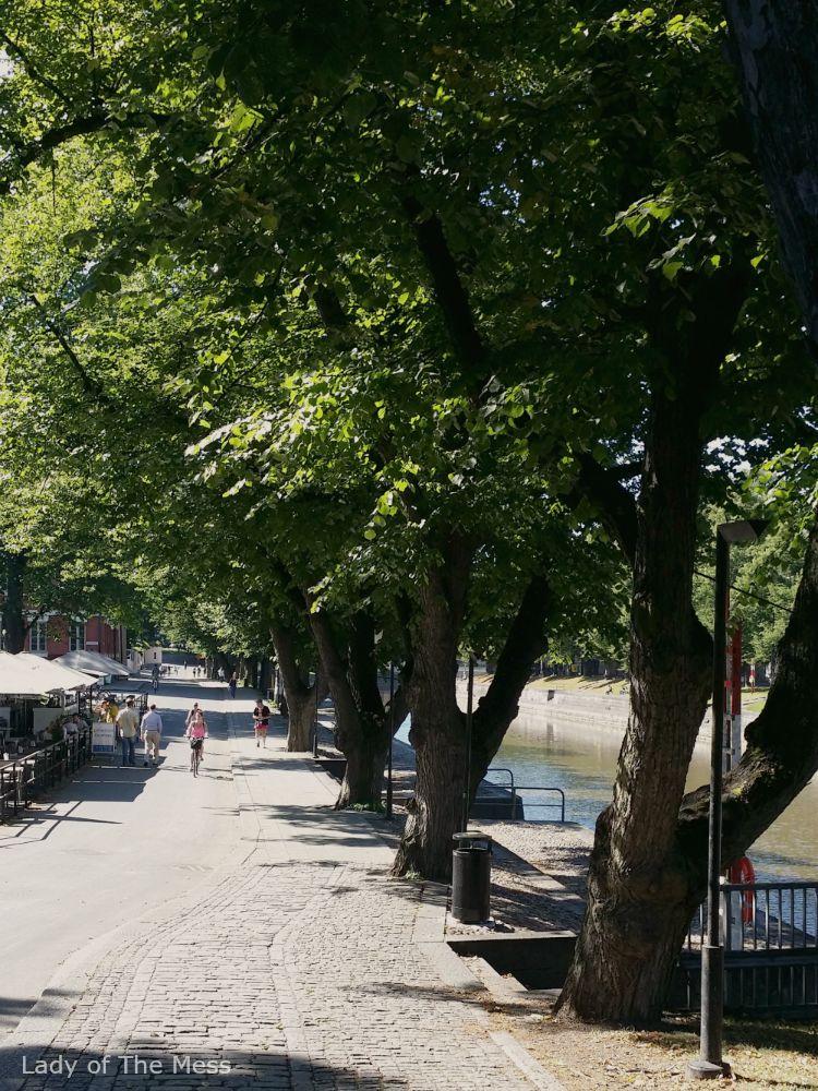 Turku - Aurajokiranta