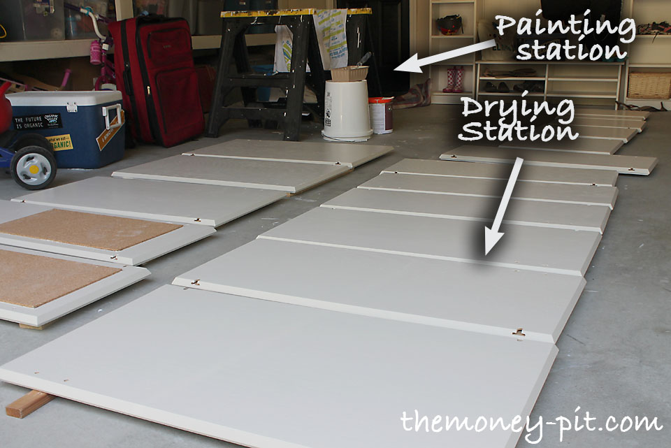 Nice The Order You Paint The Doors Is Important Too.. I Found This Worked Best: