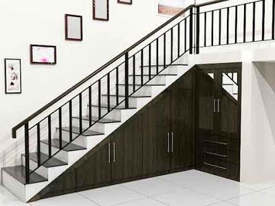desain tangga rumah minimalis 03