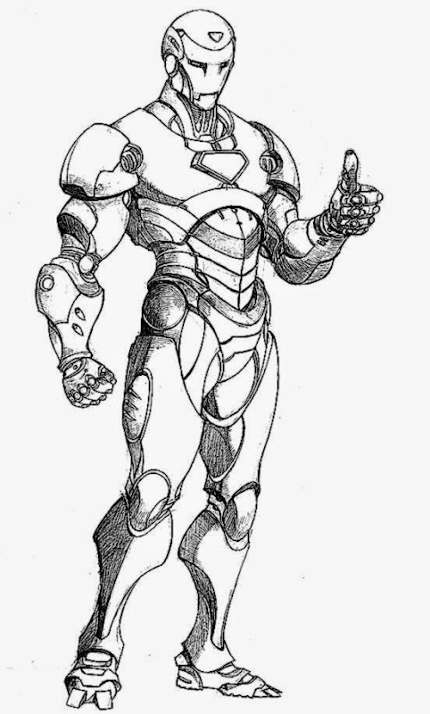 Iron Man Coloring Pages 365