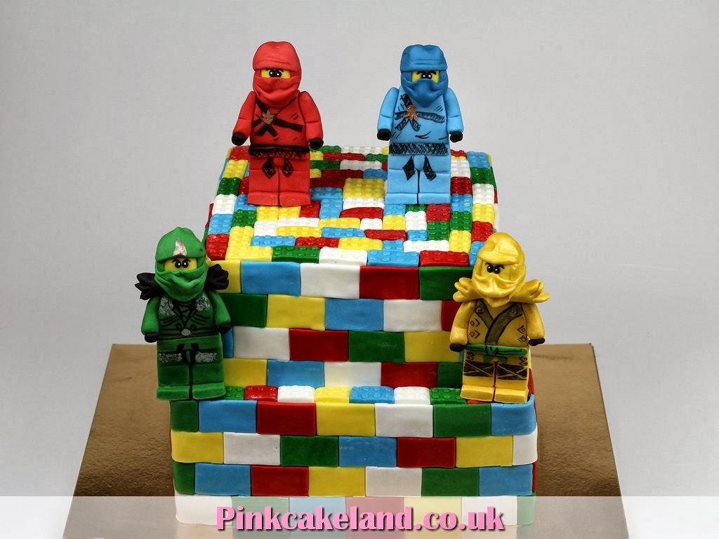 Lego Ninjago Birthday Cake - London Cakes