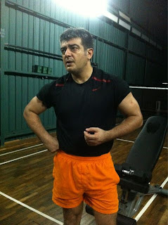 Ajith gym photo still