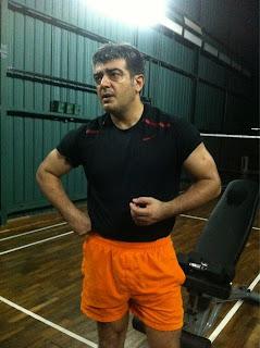 Ajith gym photo still