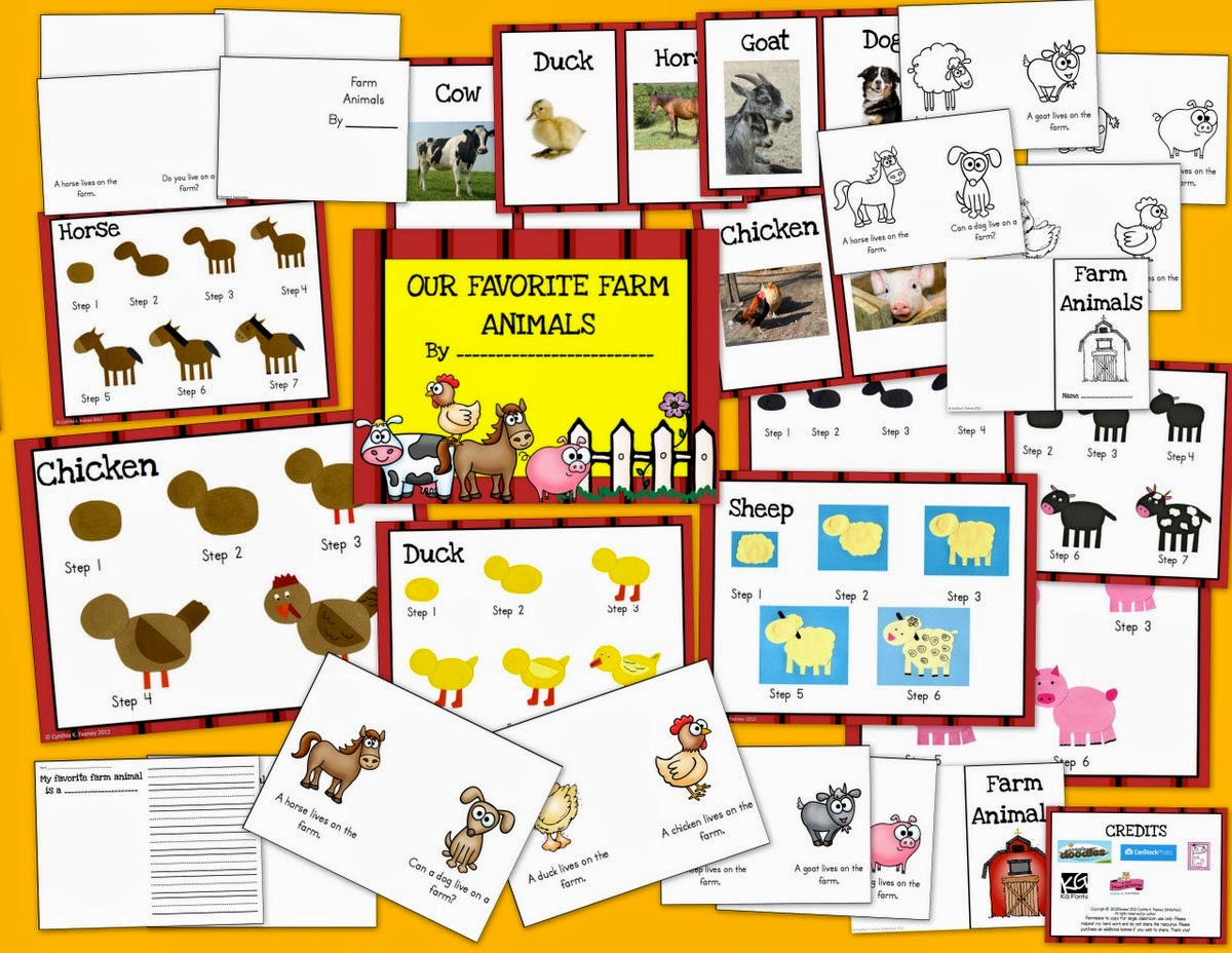 http://www.teacherspayteachers.com/Product/Draw-Cut-Create-and-Write-FARM-LIteracy-pack-271002