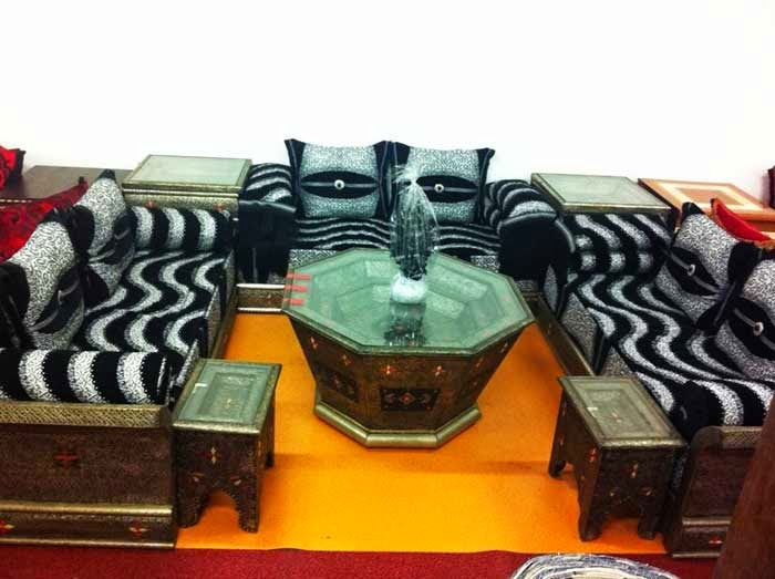 Salon marocain cuivrique formidable 2014