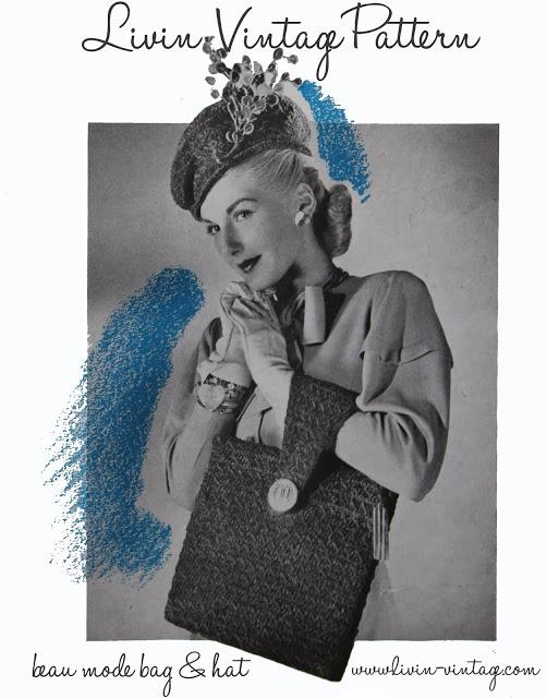 free 1940's crochet pattern