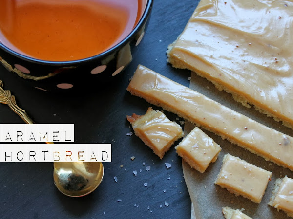 Salted Caramel-Shortbread