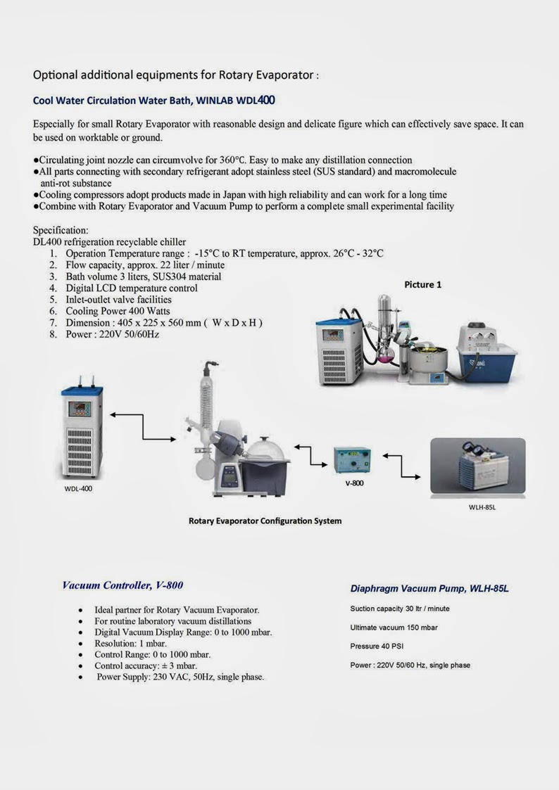 Rotary evaporator re100 winlabtech supply for scientific rotary evaporator re100 winlabtech pooptronica Gallery