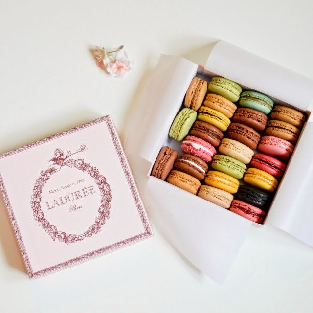 Laduree Macarons from Paris Maison Laduree at Champ Elysees