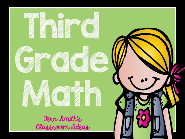 Fern Smith's Classroom Ideas Third Grade Math - Unit One - Center Games and Printables for sale at TeachersPayTeachers.