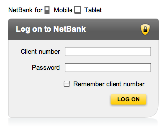 Www Netbank Com Au Login Netbank Commonwealth Logon Service Guidance Website