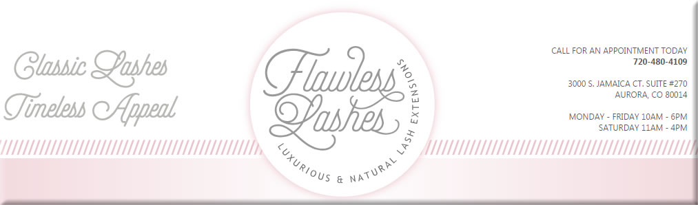 Eyelash Extensions Denver Aurora Colorado | Flawless Lashes