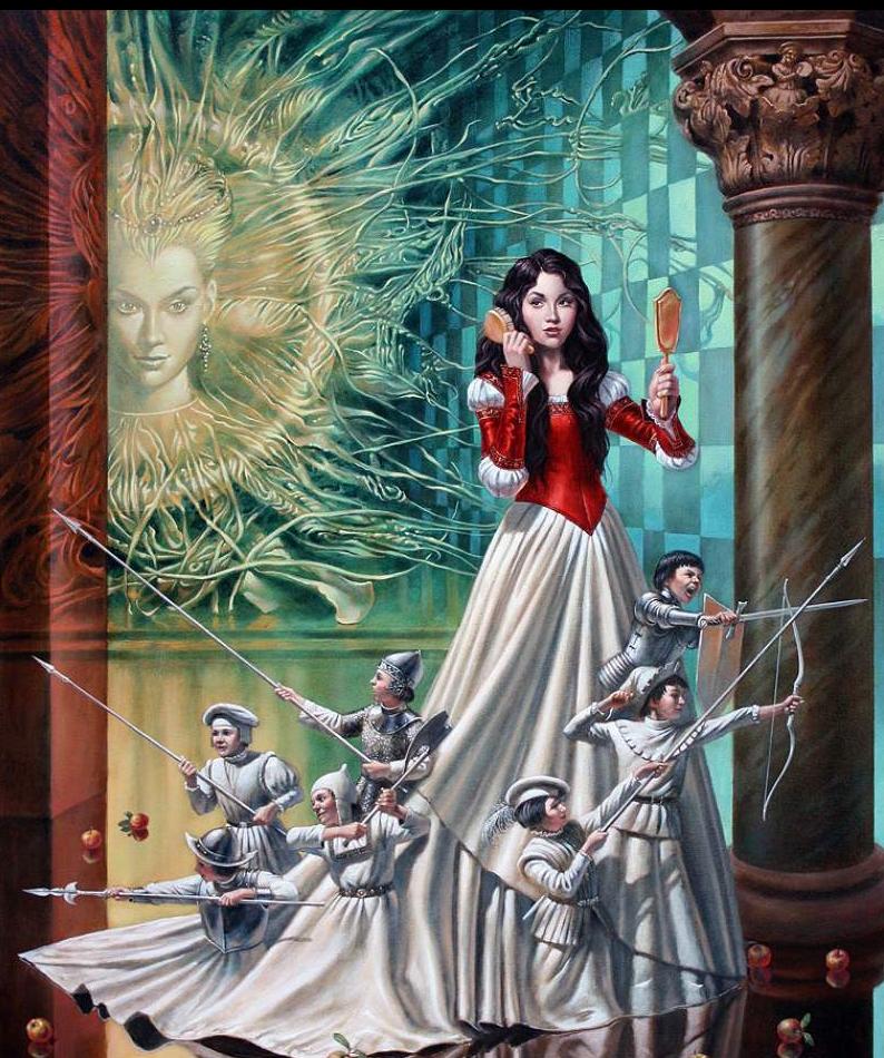 05-Michael-Cheval-The-Mirror-Asylum-Surreal-Absurdist-Paintings-www-designstack-co