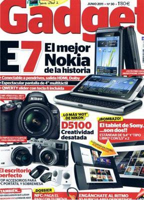 Revista: Gadget - Junio 2011 [38 MB | PDF | Español]