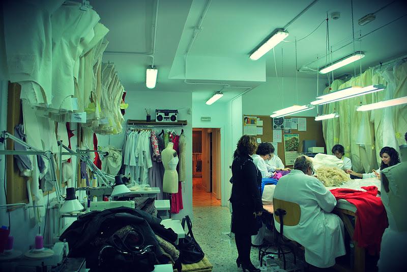 Una tarde maravillosa en el atelier de Lorenzo Caprile