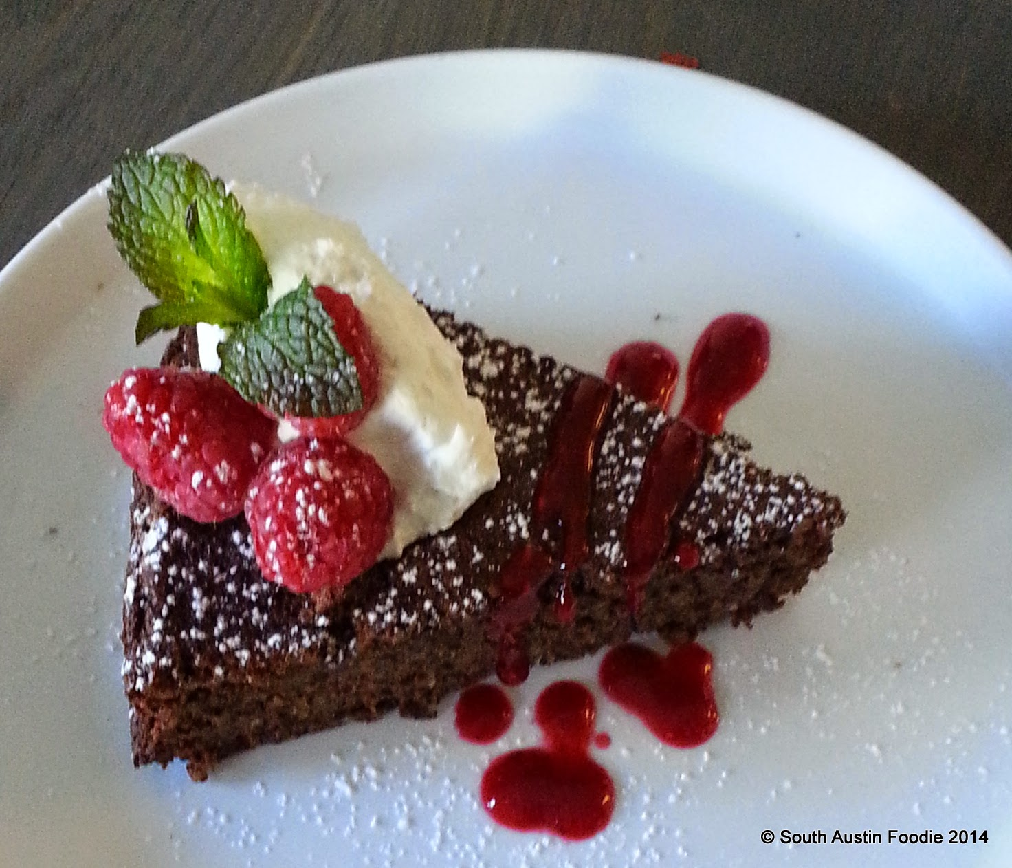 Mary's Pizza -- flourless chocolate torte