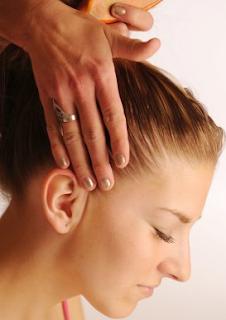 Masaje del cabello