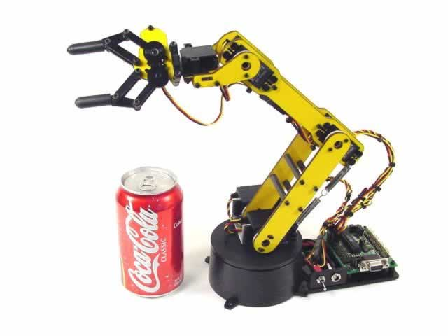 Hydraulic Arm Design : Robot arm interclass