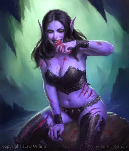 James Ryman deviantart ilustrações fantasia card games mulheres legend cryptids magic gathering