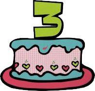 Aniversário do blog!!!