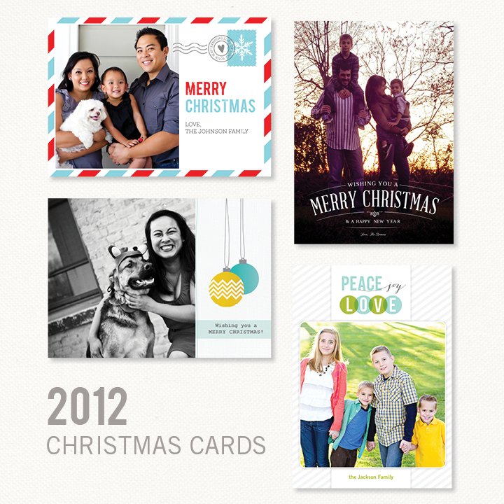 Kimberly Church || Christmas Card Designs