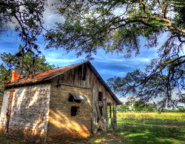 Old Farm House / Cow Shelter - North Austin, Texas - NE