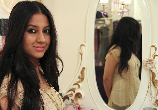 Bangalorian Fashion designer, Tina Sareen, showroom, LCF