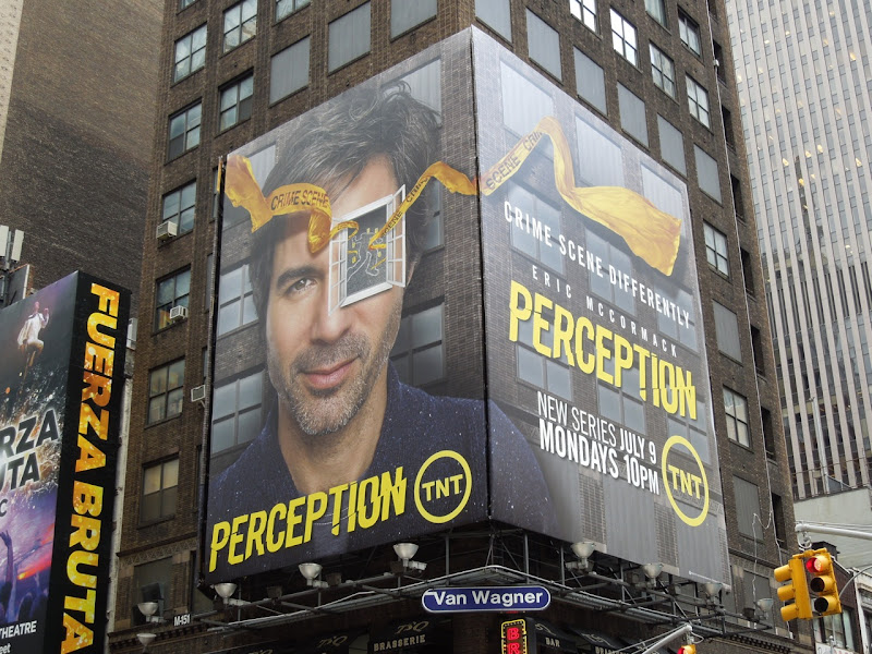 Perception TNT billboards Times Square NYC
