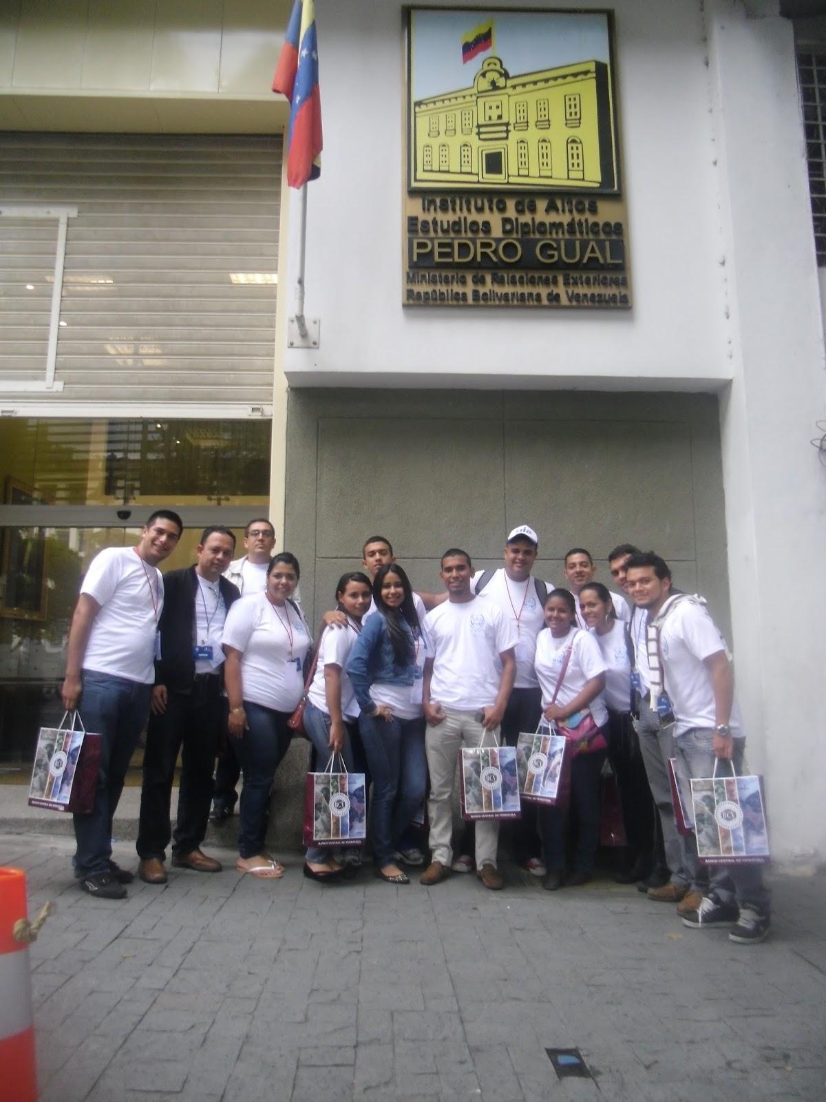 I visita al ministerio del poder popular para relaciones for Banco exterior caracas