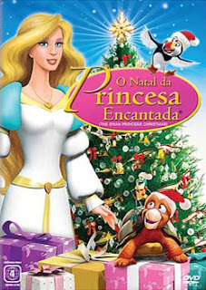 O Natal da Princesa Encantada Dublado 2012