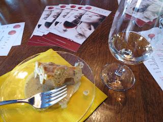2011 Sue-Ann Staff Pinot Grigio with Creamy & Savoury Waffle