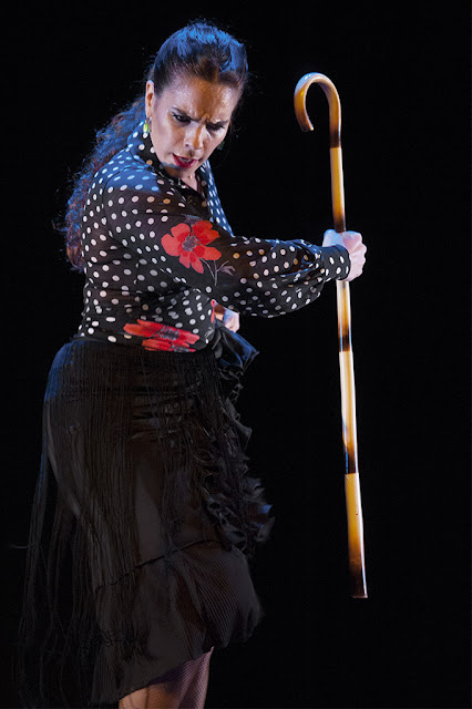 María Juncal - Vallekas Flamenco - Teatro Paco Rabal (Madrid) - 28/12/2012