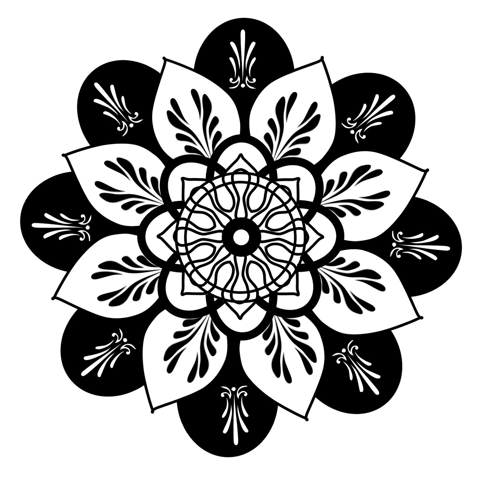 Free Clipart Mandala Series Rt012 Everyday Affirmations