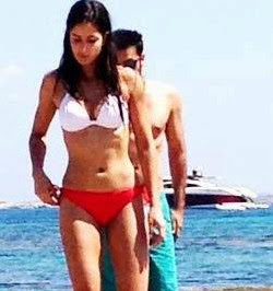 Katrina Kaif and Ranbir Kapoor sexy picture