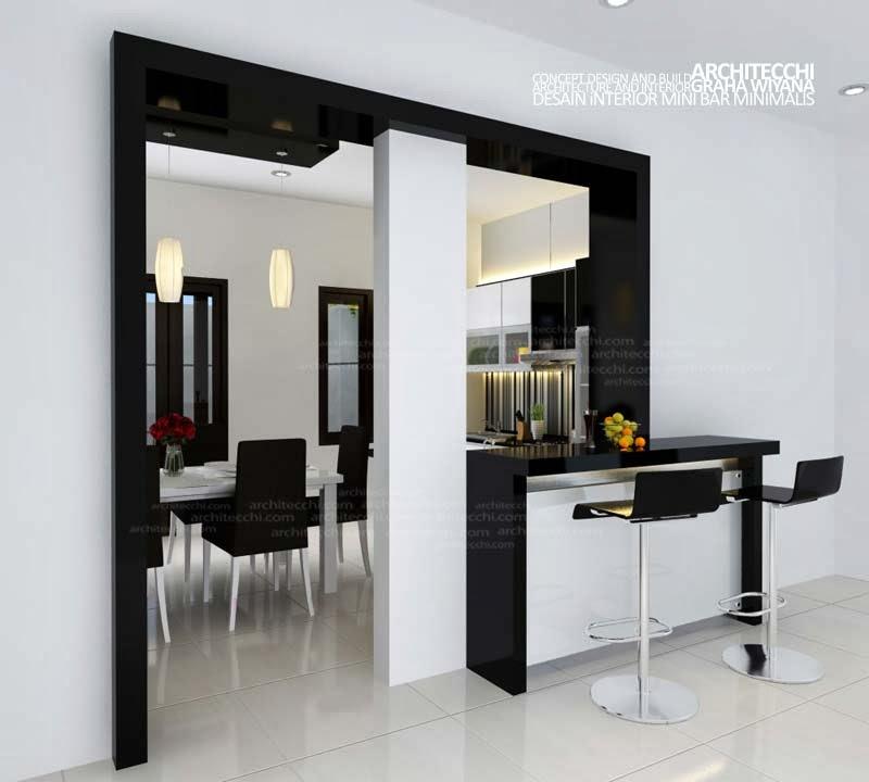 desain mini bar rumah minimalis gambar rumah idaman