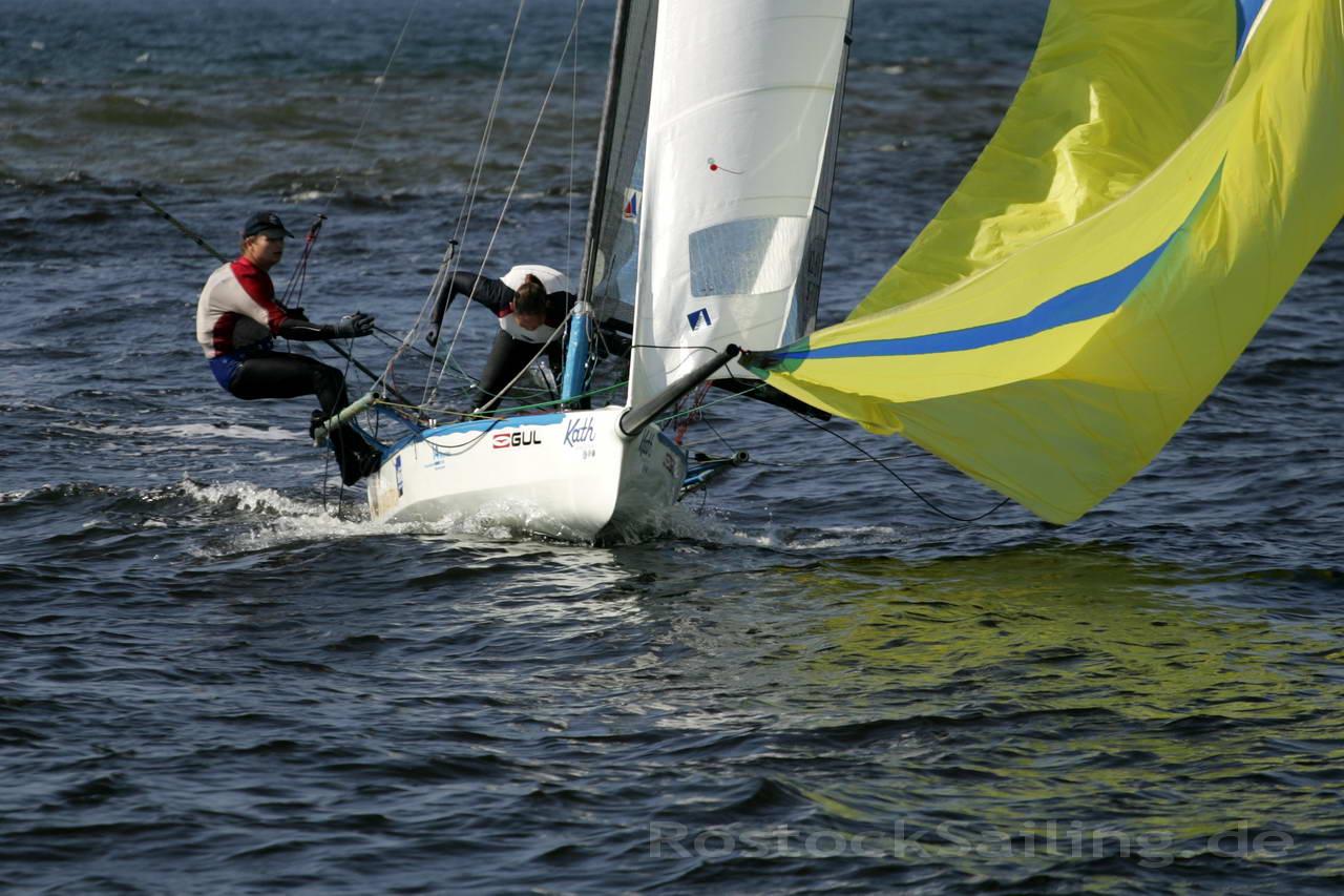 Rostock sailing warnem nde cup 2011 ixylon skiff open for Ubernachten in warnemunde